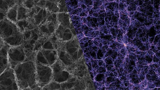 Галактика и нейронная сеть. Где что – угадайте сами.