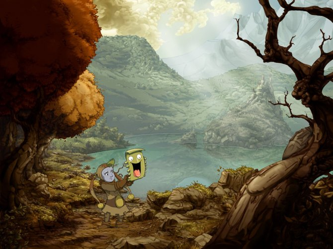 The Whispered World – очень атмосферный и интересный квест.