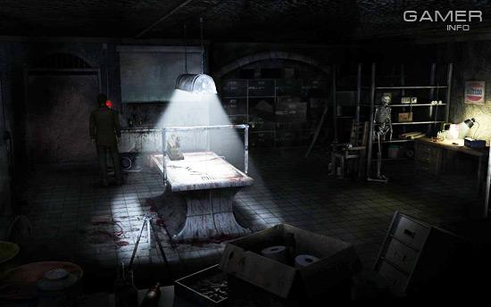 Весьма и весьма жизнерадостная комната: с полусгнившим трупом, скелетом и орудиями для пыток.