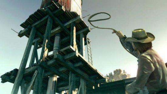 Скриншот с игры Call of Juarez: Узы крови