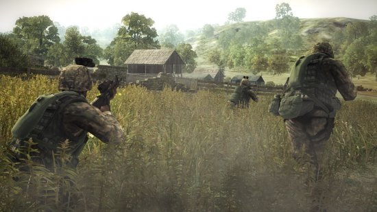 Скриншот к игре Operation Flashpoint: Dragon Rising