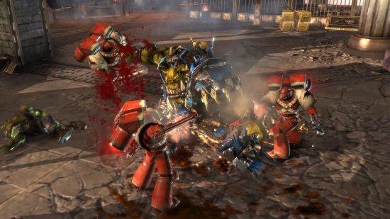 Скриншот к игре Warhammer 40000: Dawn of War II
