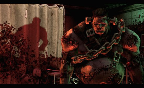 Скриншот из DLC The Zombie Island of Dr. Ned игры Borderlands