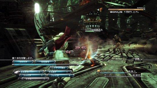 Боевая система в Final Fantasy XIII