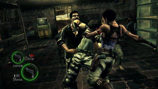 Скриншот из Resident Evil 5