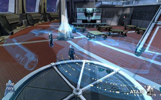 Скриншот с игры Star Trek Online