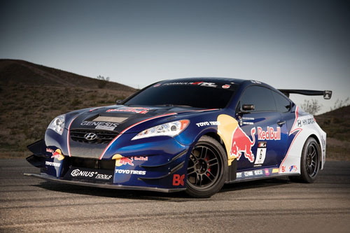 Rhys Millen Racing Red Bull Hyundai Genesis Coupe
