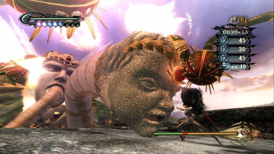Скриншот игры Bayonetta