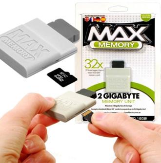 MAX Memory 2GB memory card