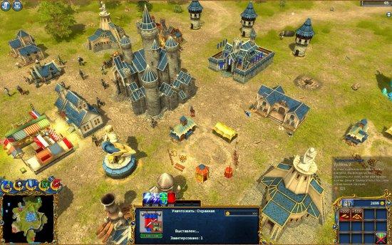 Скриншот игры Majesty 2: The Fantasy Kingdom Sim