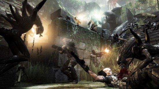 Скриншот к игре Aliens vs. Predator