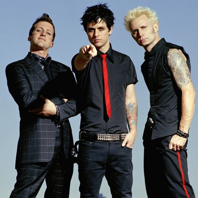 Американская панк-рок-группа Green Day