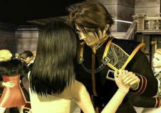 Сквол и Риноа в Final Fantasy VIII
