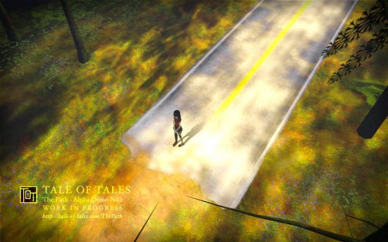 Скриншот из игры The Path