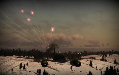 Скриншот из игры «Крылатые Хищники»