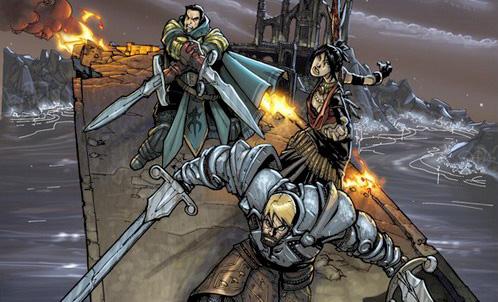 Комикс по игре Dragon Age: Origins