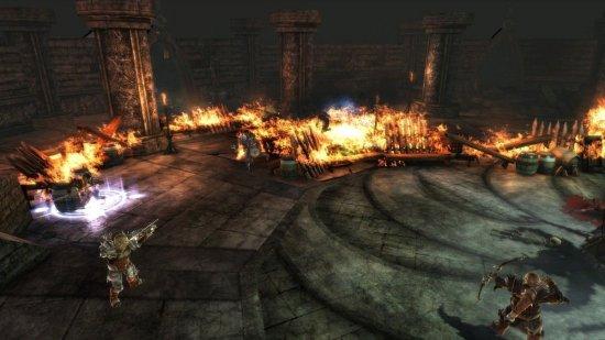 Скриншот с игры Dragon Age: Origins