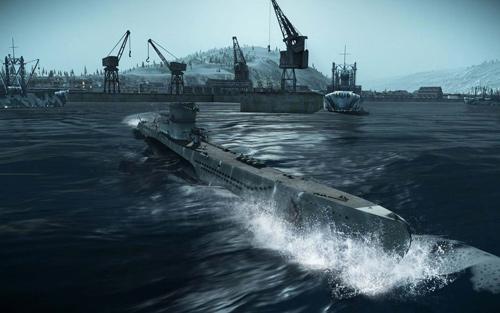 Скриншот из игры «Silent Hunter 5»