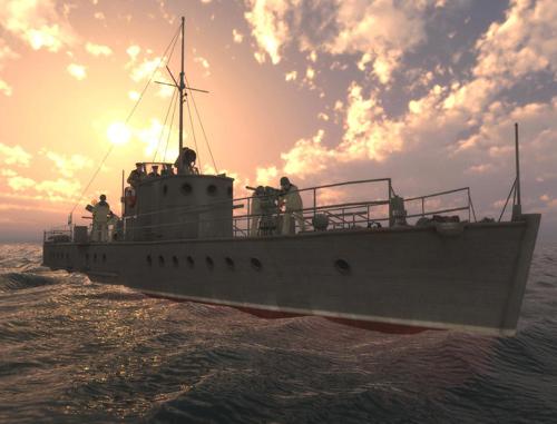 Скриншот из игры «Морской охотник: Южный гамбит»