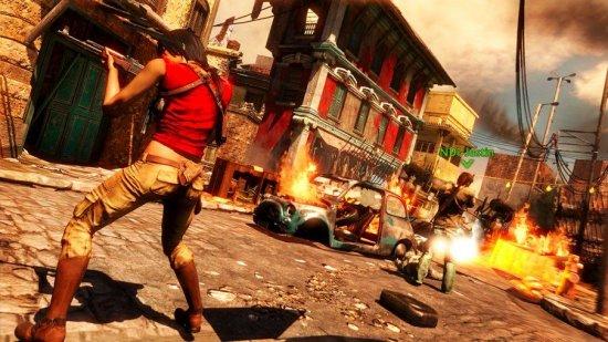 Скриншот из Uncharted 2