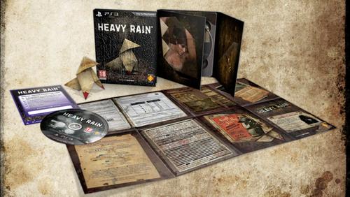 Европейское коллекционное издание Heavy Rain