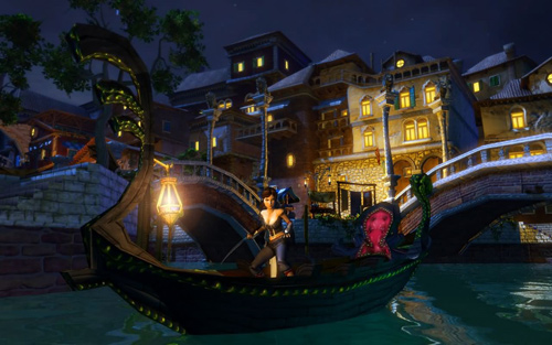Скриншот из игры «Venetica»