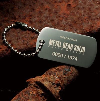 Жетон из ограниченного издания Metal Gear Solid Peace Walker Premium PSP