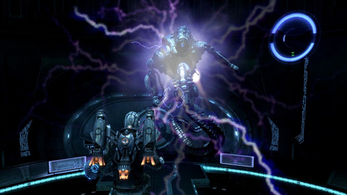 Скриншот из игры «Dark Void»