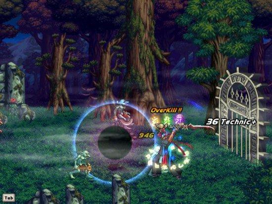 Скриншот к игре Dungeon Fighter Online