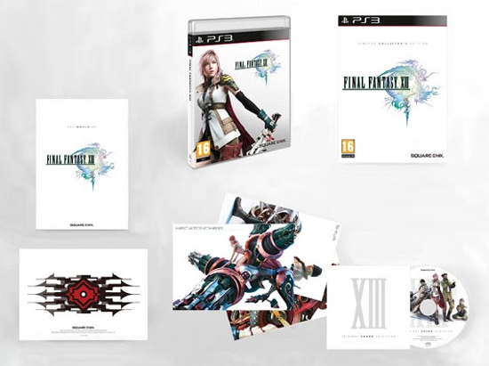 Final Fantasy XIII (Limited Collector's Edition) для PAL-регионов