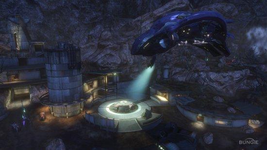 Скриншот с игры Halo: Reach