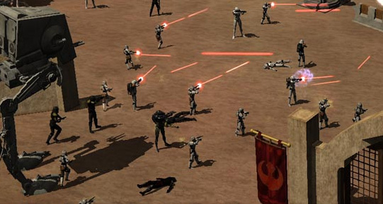 Star Wars Galaxies Galactic Civil War: Forces Under Siege