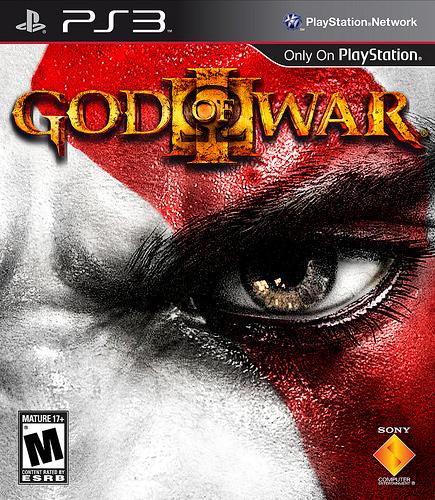 Обложка God of War III