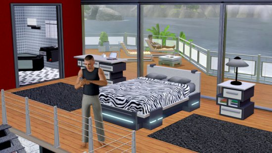 Скриншот с The Sims 3: High-End Loft Stuff