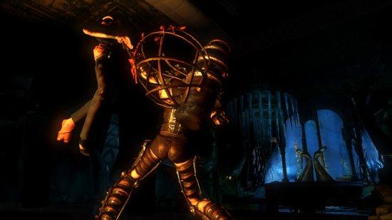 Скриншот с BioShock 2