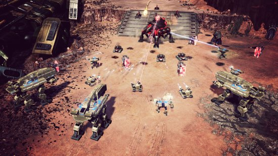 Скриншот игры Command and Conquer 4: Tiberian Twilight