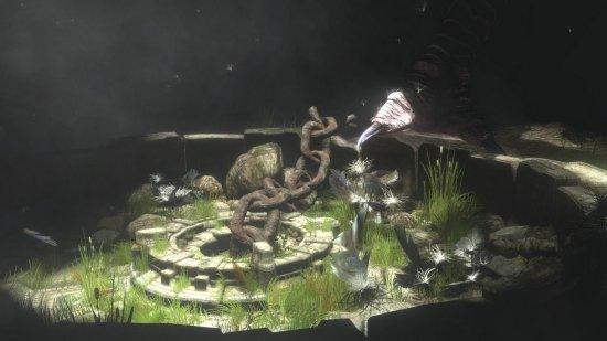 Скриншот игры The Last Guardian
