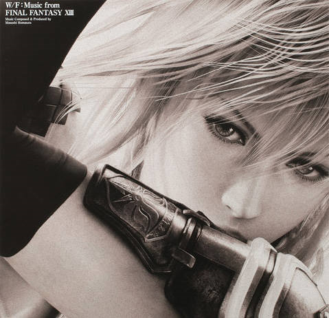 Обложка саундтрека Final Fantasy XIII на виниле