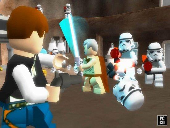 Скриншот из предыдущей части игры - LEGO Star Wars II: The Original Trilogy