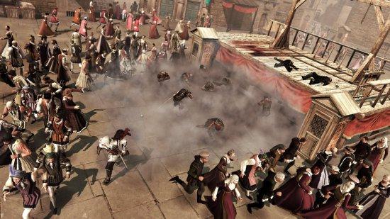 Скриншот с второй части Assassin's Creed