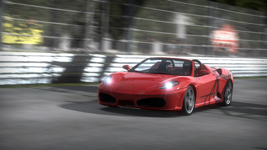 Ferrari F430 Spider в Need for Speed Shift