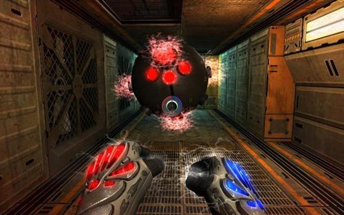 Скриншот из игры «Twin Sector»