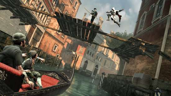 Скриншот игры Assassin's Creed II