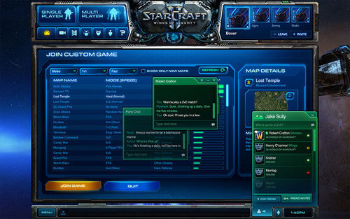 Так выглядит новый Battle.net