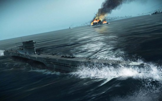 Скриншот игры Silent Hunter 5: Battle of the Atlantic