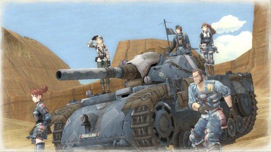 Скриншот игры Valkyria Chronicles