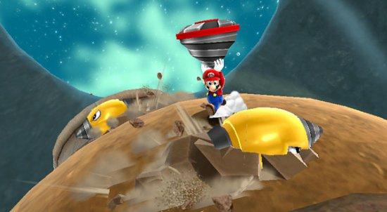 Скриншот игры Super Mario Galaxy 2