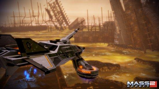 Hammerhead в Mass Effect 2