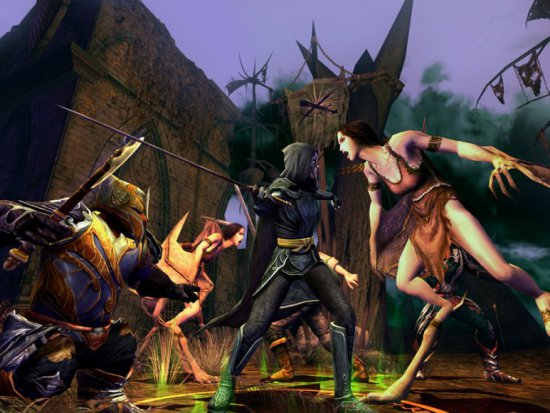 Скриншот игры The Lord of the Rings Online: Allies of the King