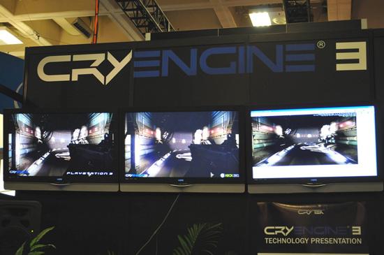 CryEngine 3 на выставке GDC 2009